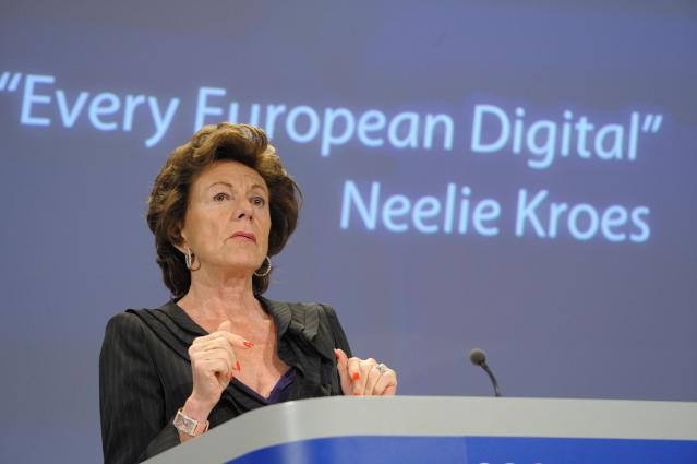 Press conference by Neelie Kroes, Vice-President of the EC, on a Digital Agenda for Europe