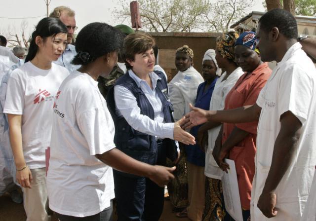 Visite de Kristalina Georgieva, membre de la CE, au Soudan