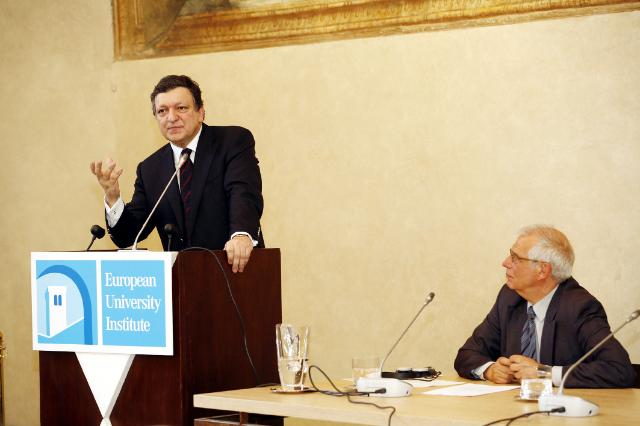 Participation of José Manuel Barroso, President of the EC, at the Global Governance Programme