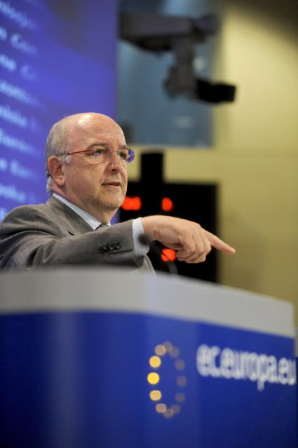 Press conference by Joaquín Almunia, Vice-President of the EC, on the bathroom fittings cartel