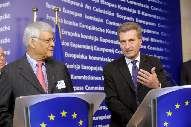Press conference by Günther Oettinger, Member of the EC, at the end of the EU-OPEC Energy Dialogue