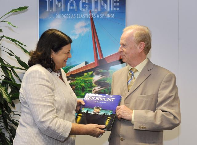 Visit of Reg Empey, Minister for Employment and Learning of Northern Ireland, to the EC
