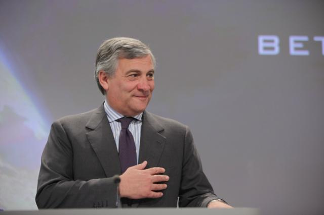 Joint press conference by Antonio Tajani and Máire Geoghegan-Quinn, Members of the EC, on The