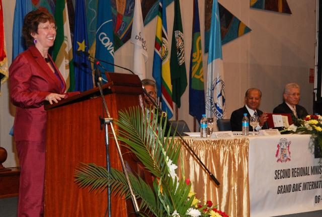 Visit of Catherine Ashton, Vice-President of the EC, to Mauritius
