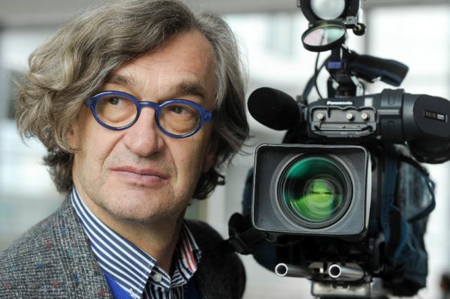 Meeting between Wim Wenders, President of the European Film Academy, and Androulla Vassiliou, Member of the EC