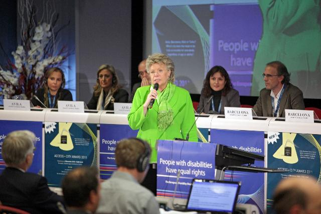 Participation of Viviane Reding, Vice-President of the EC, at the conference on European citizenship