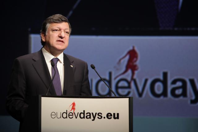 Participation of José Manuel Barroso, President of the EC, in the European Development Days