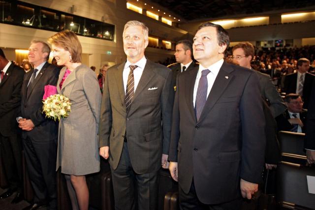 Participation de José Manuel Barroso, président de la CE, aux Journées européennes du développement