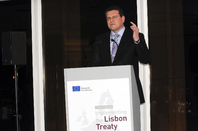 Implementing the Lisbon Treaty conference