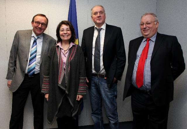 Visit of Reine J. Johansson, Iain MacSween and Niels Wichmann, Chairmen of the European Regional Advisory Council, of the EC