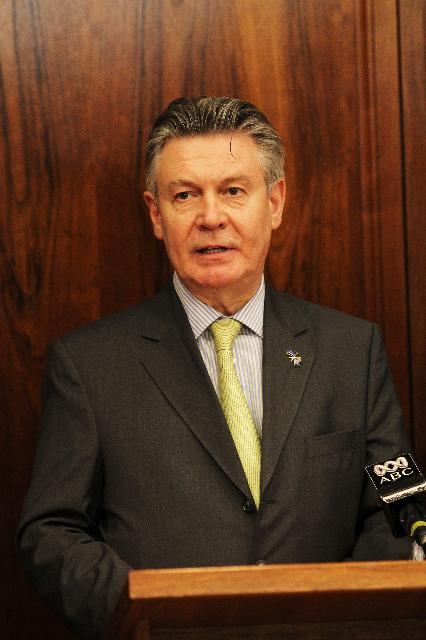 Visit of Karel De Gucht, Member of the EC, to Australia