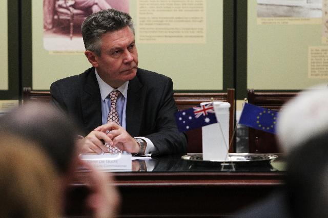 Visit of Karel De Gucht, Member of the EC, to Australia