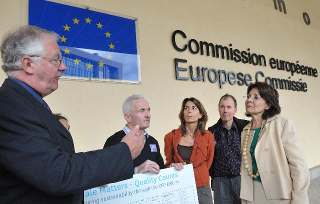 Visit of several representatives of organisations and artisanal coastal and inland fishworkers to the EC
