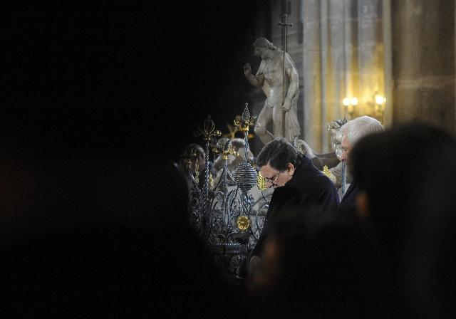 Participation of José Manuel Barroso, President of the EC, in the State Funeral of Václav Havel in Prague