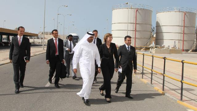 Visit of Connie Hedegaard, Member of the EC, to Qatar