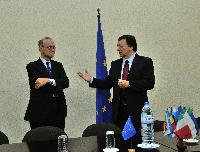 Visit of José Manuel Barroso, President of the EC, to Angola