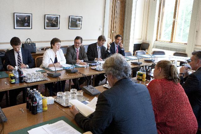 Visite de Kristalina Georgieva, membre de la CE, en Autriche