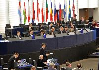 Visit of the College of the EC to Strasbourg