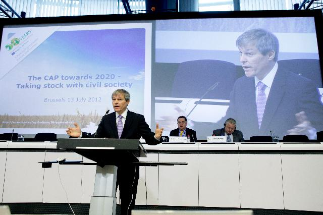 Participation of Dacian Cioloş, Member of the EC, at the