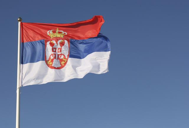 Flags of Iceland, Montenegro and Serbia