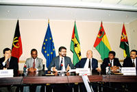 Signing of a regional cooperation agreement between the Portuguese-speaking African countries and the EEC