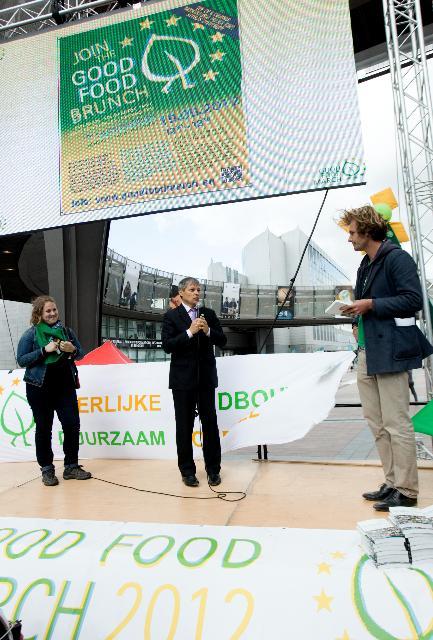 Rencontre entre Dacian Cioloş, membre de la CE, et les représentants de
