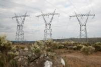 A Portuguese power station producing energy for Portugal and Spain