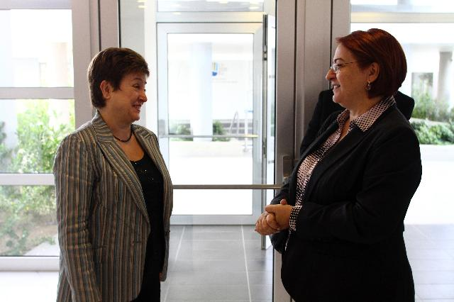 Participation of Kristalina Georgieva, Member of the EC, at the workshop entitled