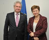 Visit of Andreas D. Mavroyiannis, Deputy Minister to Demetris Christofias, President of Cyprus, in charge of European Affairs, to the EC