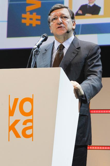 Participation of José Manuel Barroso, President of the EC, in the Voka Congress 2012