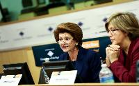 Participation of Androulla Vassiliou and László Andor, Members of the EC, at the 1st conference on the