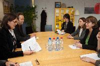 Visite de Maia Panjikidze, ministre géorgienne des Affaires étrangères, à la CE