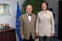 Visit of Tung Kuo-yu, Head of Mission of the Republic of China to the EU, to the EC