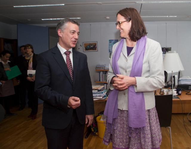 Visit of Iñigo Urkullu, President of the Basque Government, to the EC