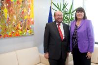 Visit of François Biltgen, Luxembourgish Minister, to the EC