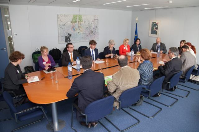 Visit of a delegation from the Federation of European Publishers to the EC