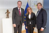 Visit of Alberto Fabra Part, President of the Government of the Valencian Community, to the EC