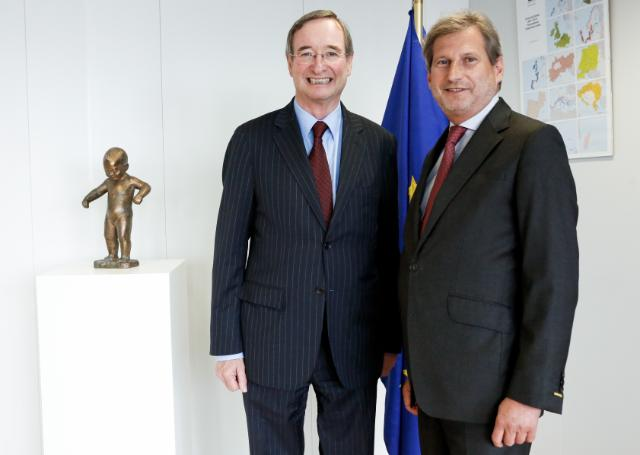 Visit of Christoph Leitl, President of the Austrian Federal Economic Chamber, to the EC