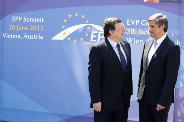 Visit of José Manuel Barroso, President of the EC, to Austria