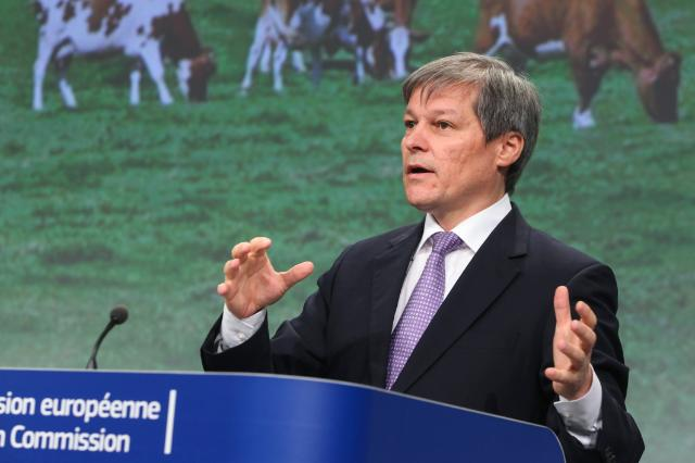 Press conference by Dacian Cioloş, Member of the EC, on the political agreement on new direction for CAP