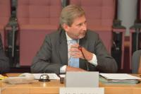 Participation of Johannes Hahn, Member of the EC, at the round table on 'The added value of the Macro-Regional Strategies – Presentation of the first evaluation report'