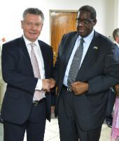 Visit of Karel De Gucht, Member of the EC, to Botswsana