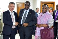 Visit of Karel De Gucht, Member of the EC, to Botswsana