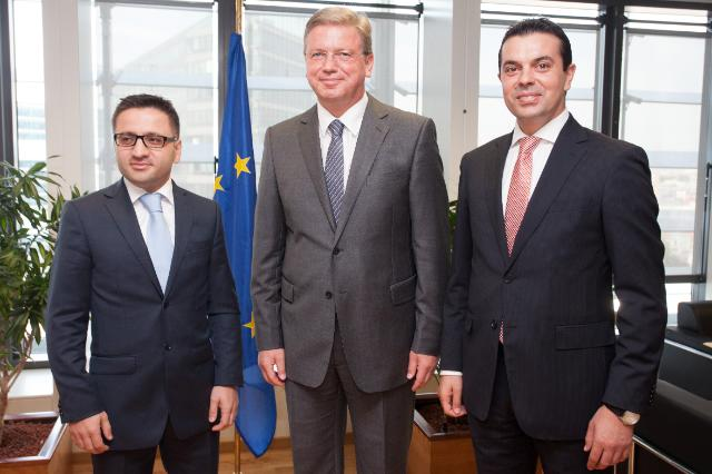 Visit of Fatmir Besimi and Nikola Poposki, Deputy Prime Minister and Minister of the former Yugoslav Republic of Macedonia, to the EC