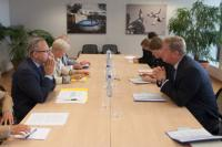 Visit of Jean-Paul Philippot, President of the EBU, and Ingrid Deltenre, Director-General of the EBU, to the EC
