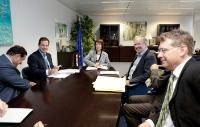 Visit of Javier Garat, Secretary General of the Cepesca and President of Europêche, to the EC