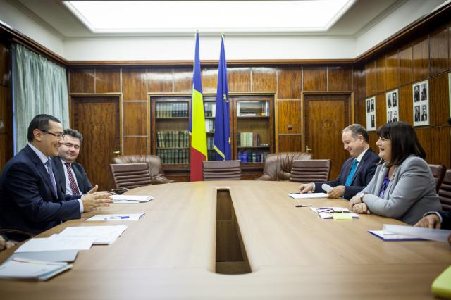Visit of Máire Geoghegan-Quinn, Member of the EC, to Romania