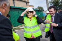 Visit of Máire Geoghegan-Quinn, Member of the EC, to Romania