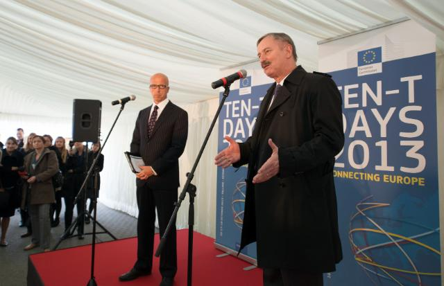 Participation of Siim Kallas, Vice-President of the EC, at the TEN-T days in Tallinn