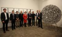 Visite de José Manuel Barroso, président de la CE, à Berlin
